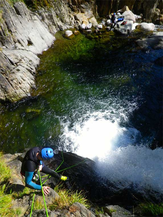 Canyoning Lake District